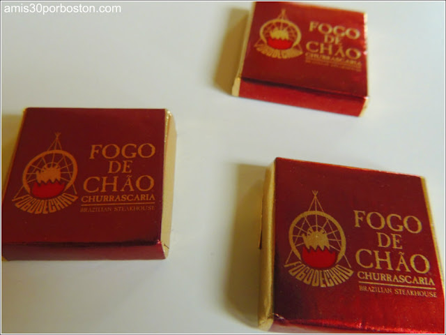 Restaurante Fogo De Chao: Chocolatinas
