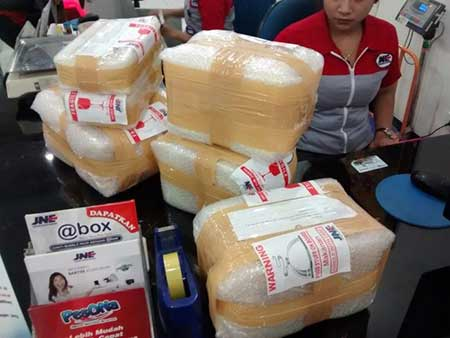 Tempat & Cara Ambil Paket Kiriman JNE Kota Tanjung Balai