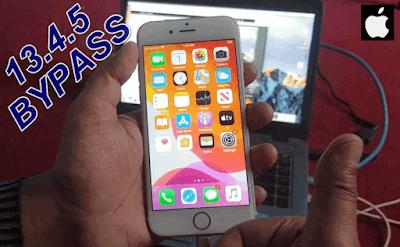 iCloud Bypass iOS 13.4.5 One Click-NO CMD & NO DOWNGRADE