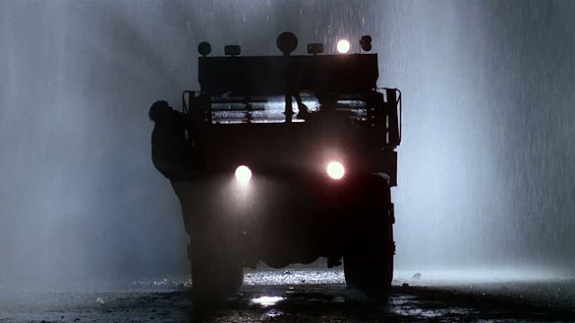Truck in mist and rain in Sorcerer 1977