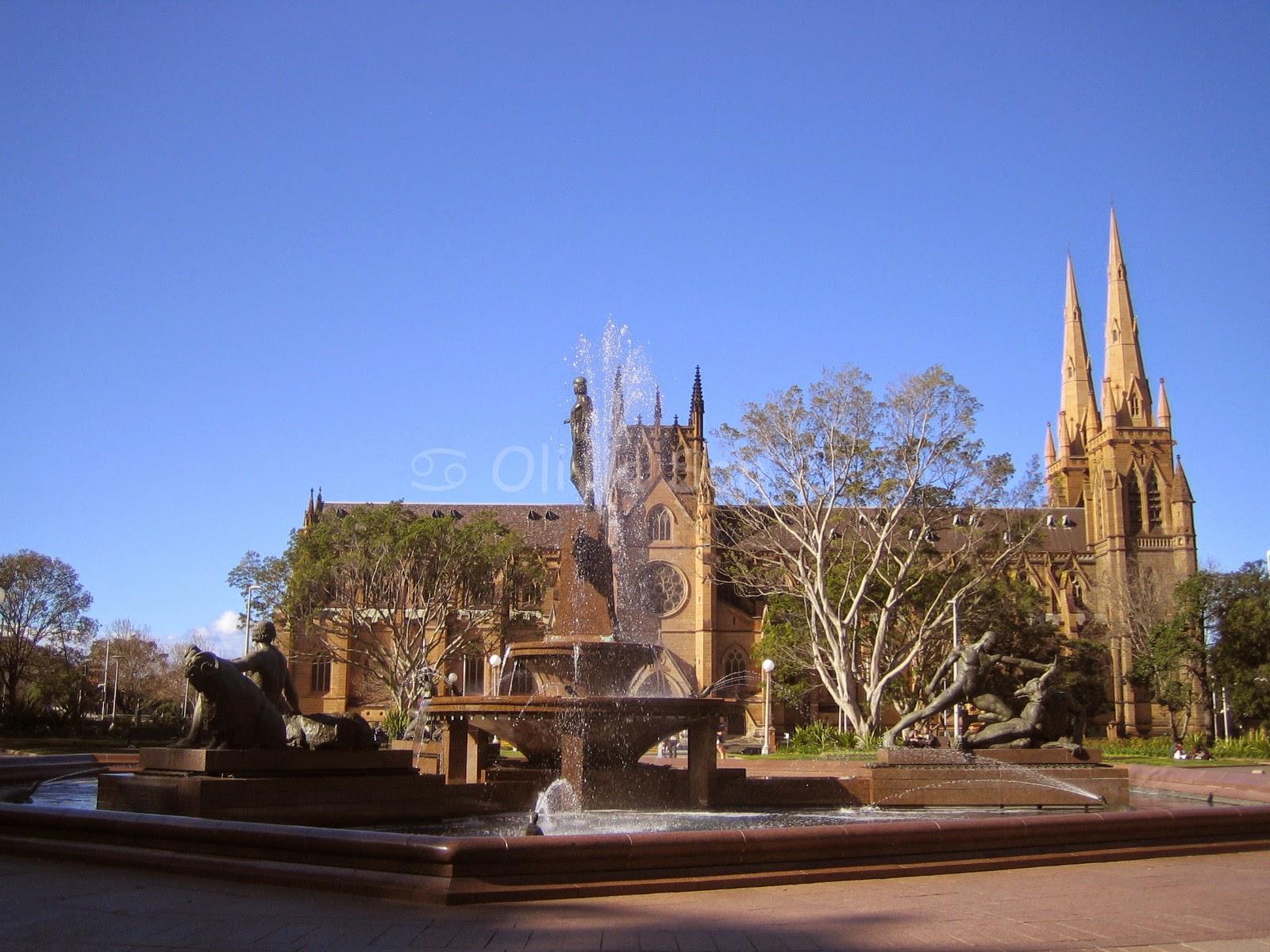 Hyde Park, Sydney, Australie