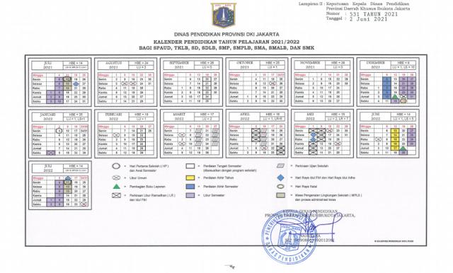 Download Kalender Pendidikan 2021/2022 DKI Jakarta pdf