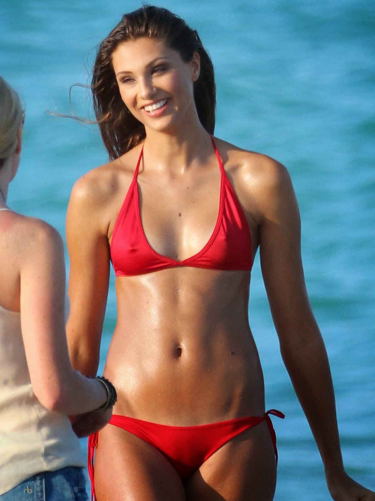 Fernanda Uesler Looking Hot In Red Bikini - Hot4Sure-3174