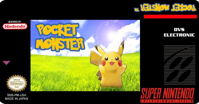 Super Nintendo para sempre!: Pokémon - Pocket Monsters