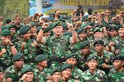 Latihan Pembentukan Raider Satjar Kostrad TA 2019 Resmi Ditutup oleh Pangdivif 2 Kostrad