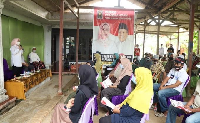 Ratu Tatu: Warga Kabupaten Serang Bisa Enyam Pendidikan Gratis hingga Perguruan Tinggi