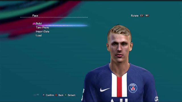 Mitchel Bakker Face and Hair PES 2013