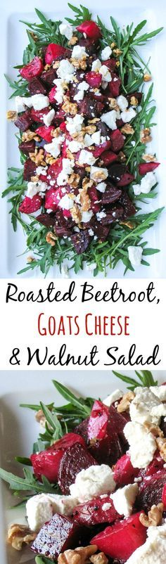 Roasted #Beetroot, #Goats #Cheese #& #Walnut #Salad