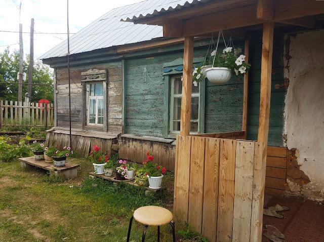мои 92 дня лета, деревенский домик