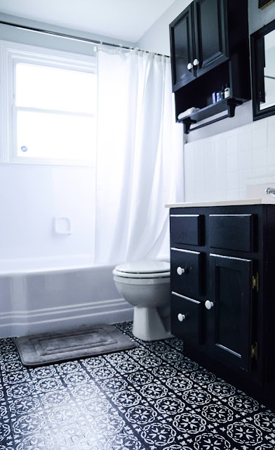 Remodeling Bathroom with Paint