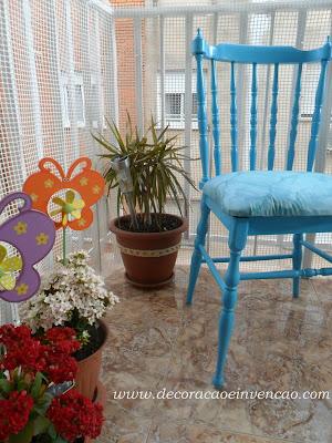 A Blogueira e as Cadeiras