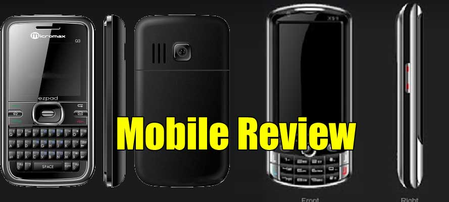 Micromax Q3 Mobile Review