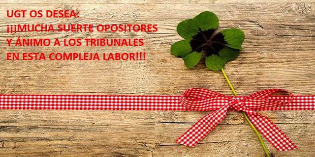 Oposiciones docentes 2019, Enseñanza UGT Ceuta, Blog de Enseñanza UGT Ceuta
