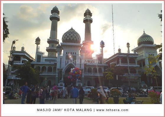 masjid agung jamek malang