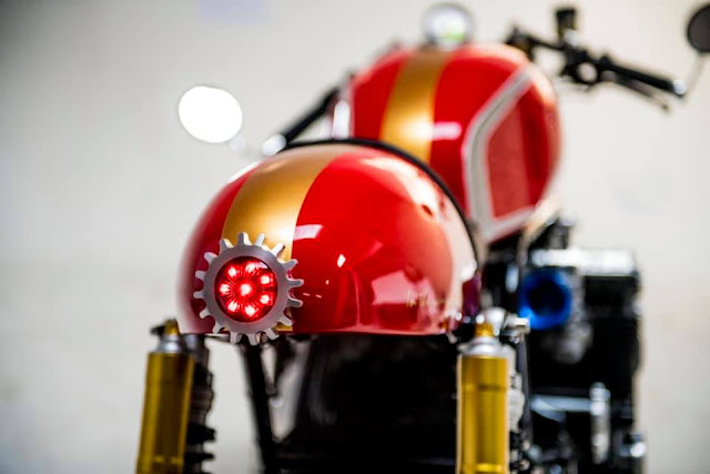 Honda CBX1000 By Mandrill Garage Hell Kustom