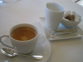 苦味のあるエスプレッソコーヒー