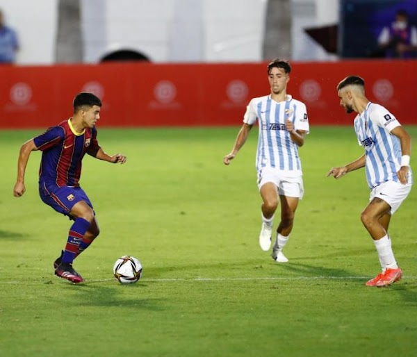 El Málaga Juvenil cae contra el Barça por la mínima y de penalti (1-0)