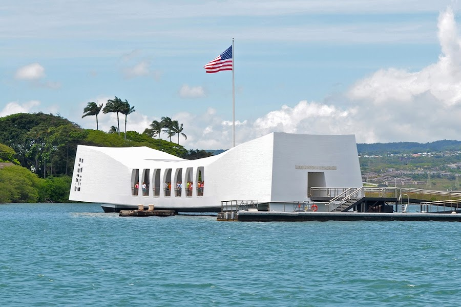 USS Arizona Memorial, Honolulu, Hawaii