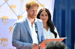 Duek and Duchess of Sussex vow to stand up for what they believe in