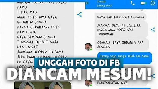 Hati-hati Unggah Foto di Medsos, Banyak Penjahat Mesum Gini!