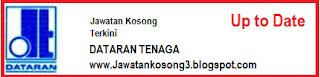 Jawatan Kosong Dataran Tenaga (M) Sdn Bhd 08 Jan 2017