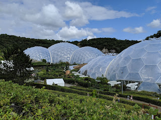 The Eden Project, July 2019