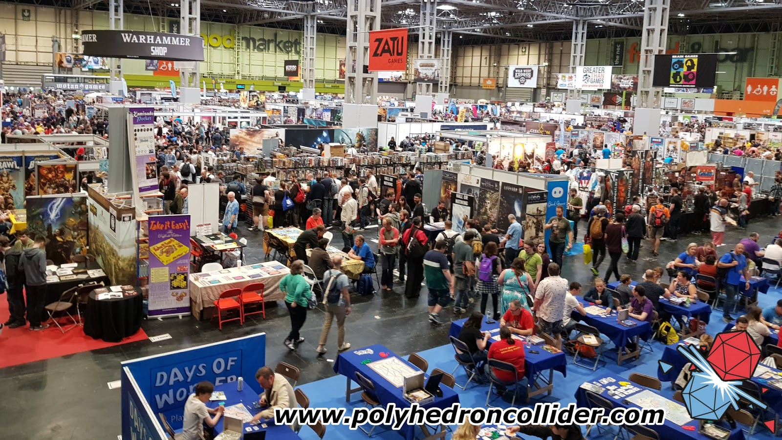 News Collider - Board Game News UK Games Expo Growth