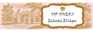 Eclectic Ellapu Aug 2016 - Top 5