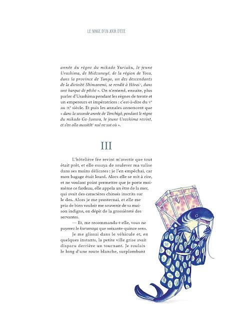 """page de """"Histoires de Fantômes du Japon"""" de Benajmin Lacombe et Lafcadio Hearn chez Soleil"""