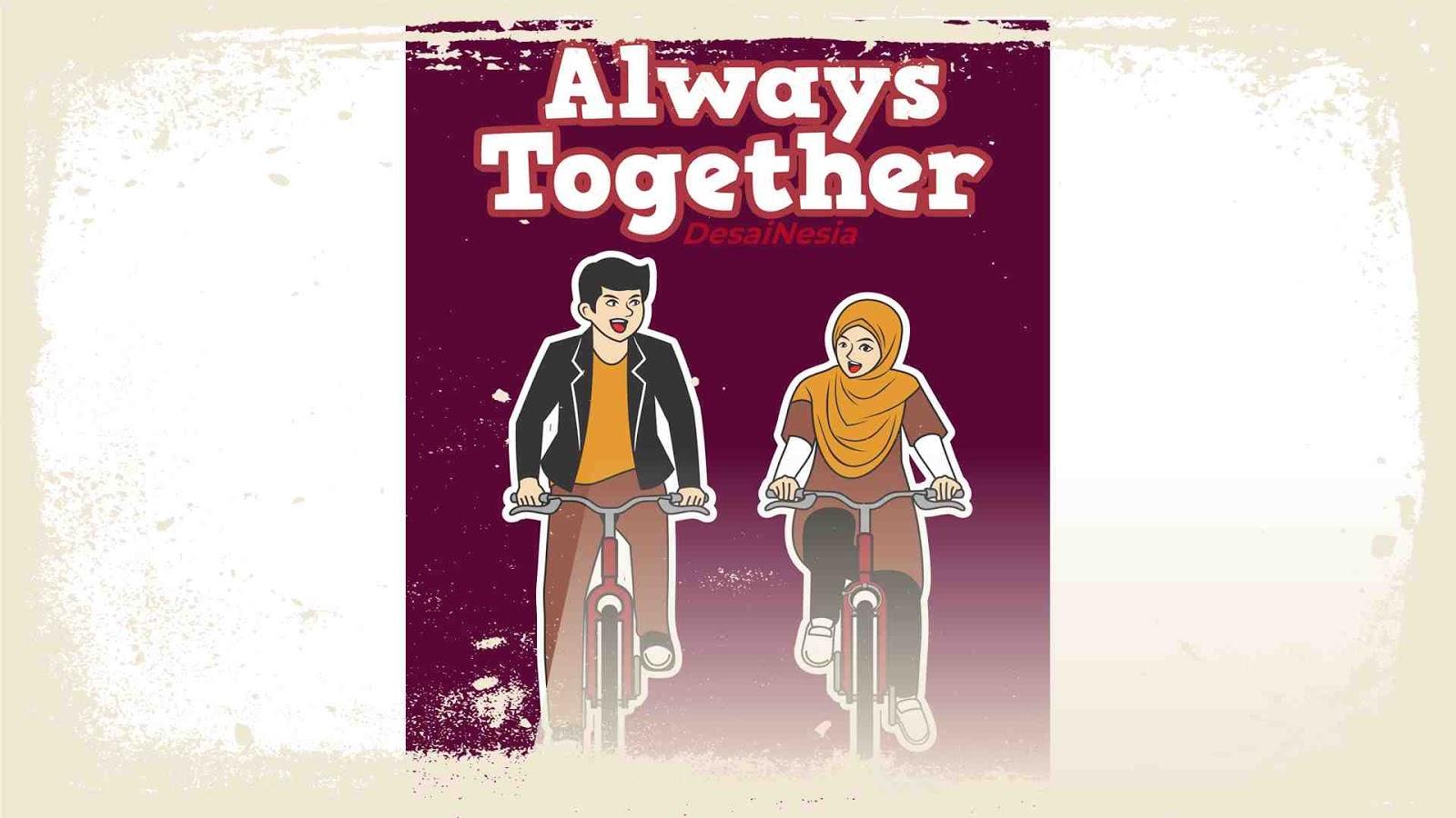 sepeda bersama pasangan