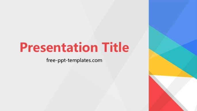 material design ppt template