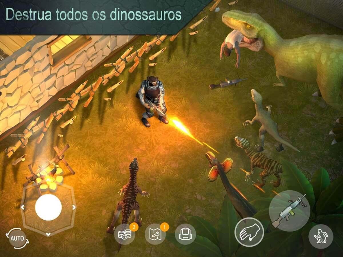 Jurassic Survival v 2.7.0 apk mod CRAFT INFINITO / MOD MENU