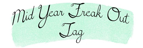 Mid Year Freak Out Book Tag