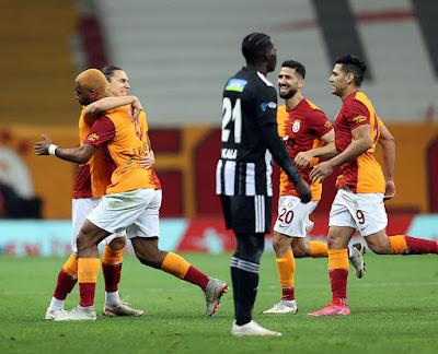 ملخص واهداف مباراة جالطة سراي وبشكتاش (3-1) الدوري التركي