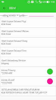 BBM Mod Kemod V3.0.0.18 Apk