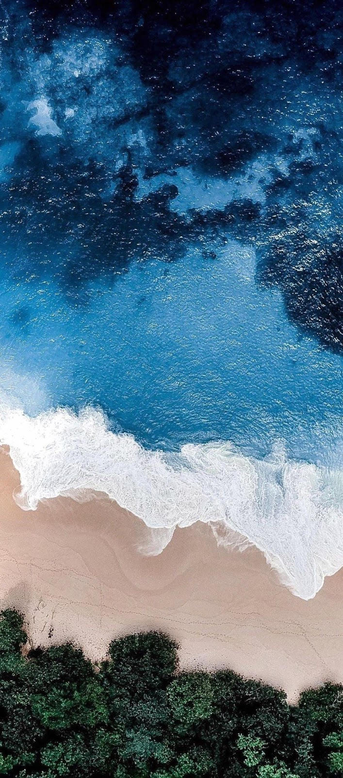 blue beach  Wallpapers Iphone X