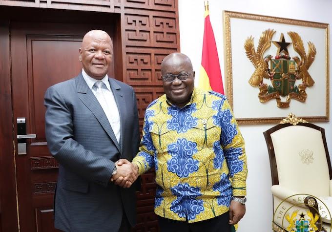 President Ramaphosa Apologises To Ghana Over Xenophobic Attacks