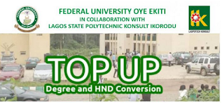 FUOYE - LASPOTECH HND Top-Up / Conversion Form 2019/2020