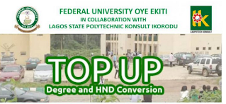 FUOYE - LASPOTECH Top-Up/HND Conversion Form 2021/2022