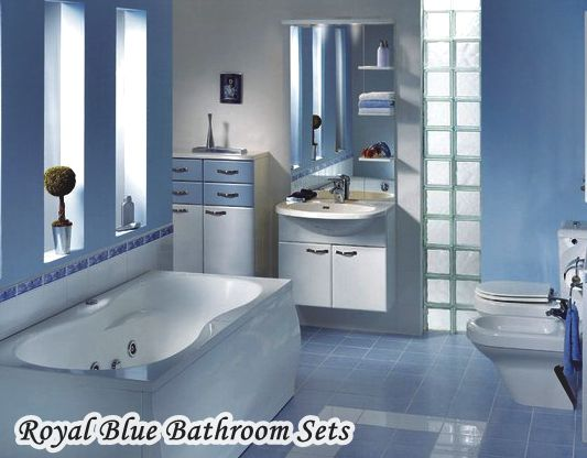 royal blue bathroom. Navy Royal Blue Bathroom Sets and Accessories  HomeTiens