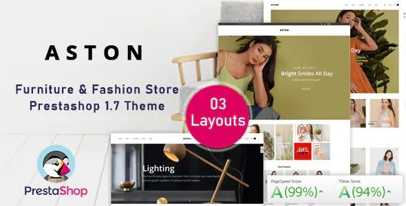 Best Fashion eCommerce Prestashop Theme