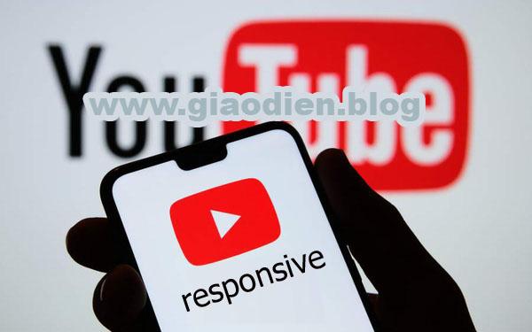 Nhúng video youtube chuẩn responsive