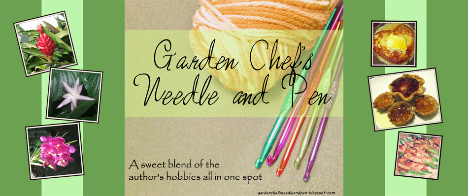 Garden Chef's Needle and Pen