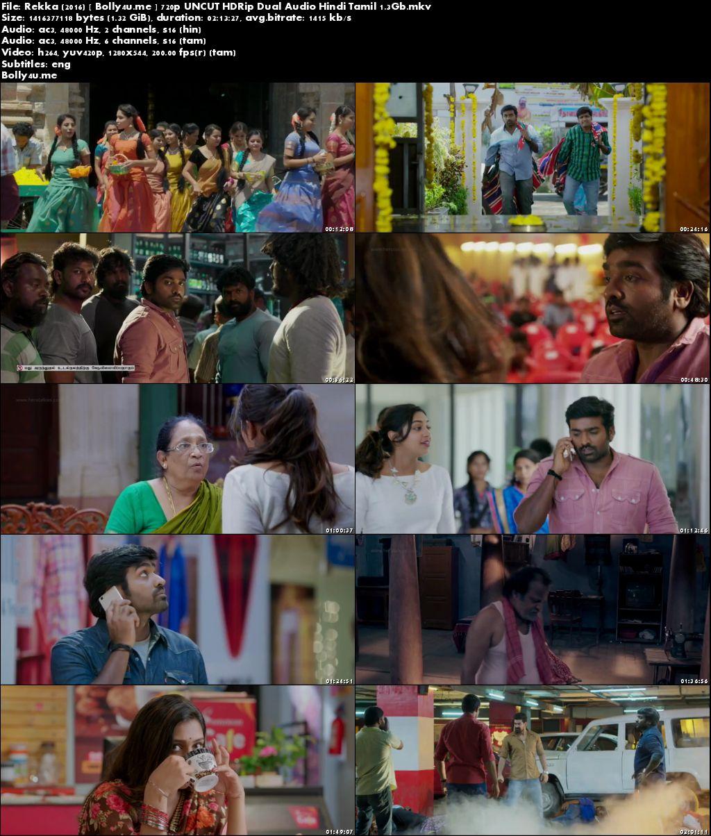 Rekka 2016 HDRip UNCUT Hindi Dubbed Dual Audio 720p ESub Download