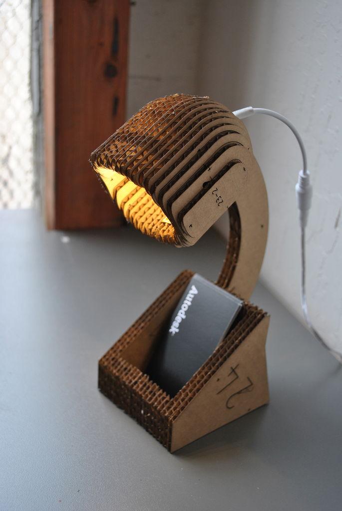 Creativity Creative Cardboard Lamps