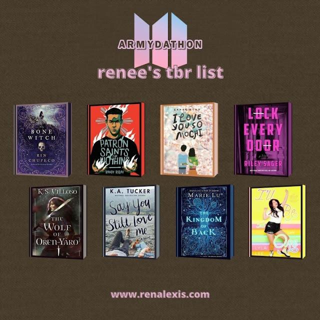 ARMYdathon - Renee's TBR List