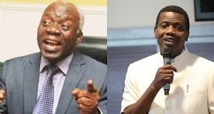 """""""Pastor Adeboye Is Creating Business Centres, Not Churches""""- Falz's Father, Femi Falana"""