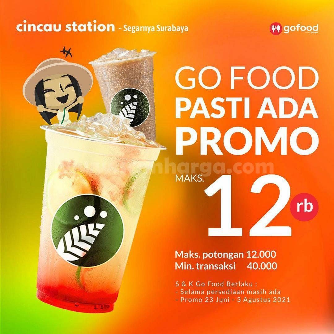 CINCAU STATION Promo DISKON hingga Rp. 12.000 Bareng GOFOOD