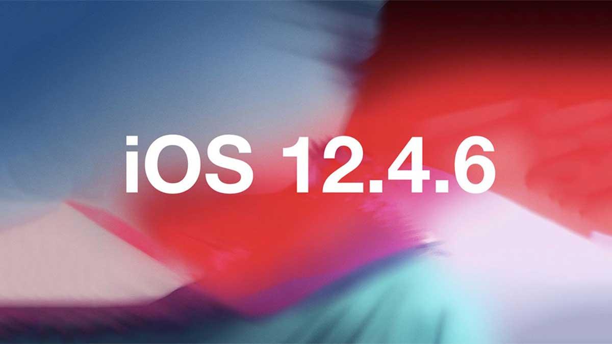 تنزيل iOS 12.4.6 لأجهزة iPhone 5s
