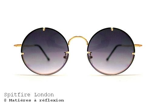 Lunettes de soleil rondes Spitfire London verres ronds Poolside